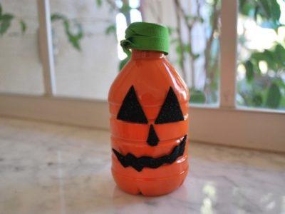 Decoracion Halloween 2017 | calabazas frascos