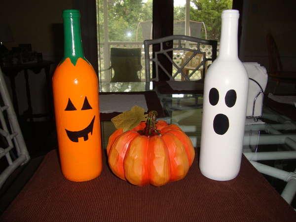 decoracion-halloween-2015-calabazas-frascos-con-botellas-fantasma