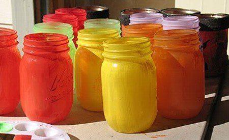 decoracion-halloween-2013-calabazas-frascos-pintar-frascos