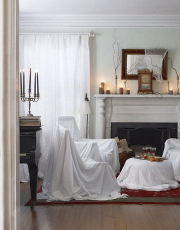 Halloween decoration-sabanas-blancas