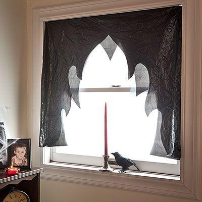 Figuras en las ventanas para Halloween 2015