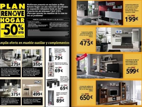 rebajas-moblerone-verano-2014-plan-renove-televisor-comedor