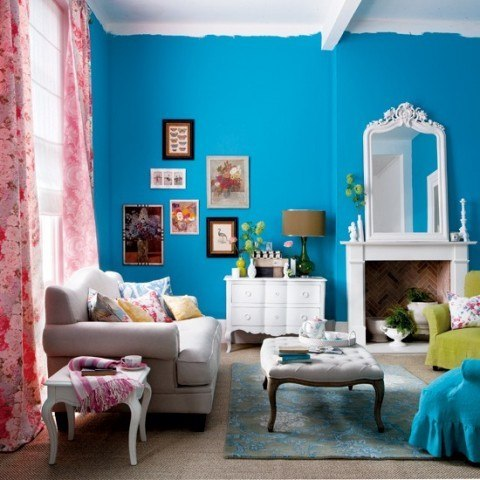 Colores para decorar paredes - Outstanding one room apartment decoration in bright white design ...