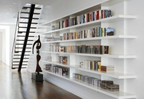 Wall Shelving Ideas For Small Spaces: Bibliotecas Diseño