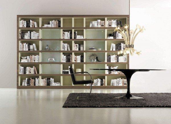 los muebles bibliotecas modulares