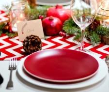 Organizar la mesa de navidad