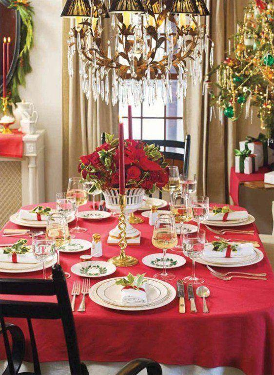 Organizar la mesa de navidad - Adornos para la mesa de navidad ...