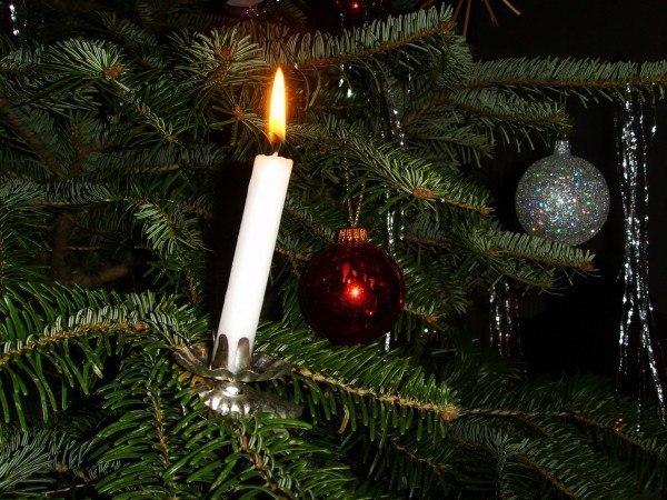 Velas De Navidad Decoracion Ideas Fotos Espaciohogarcom - Arbol-de-navidad-con-vasos-de-plastico