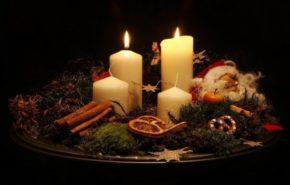 Velas de Navidad | decoración, ideas, fotos