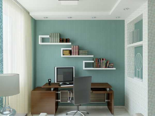 Fotos de decoraci n oficinas peque as y modernas for Small professional office design