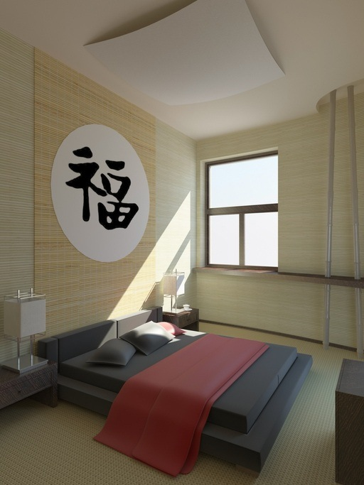 Decoracion oriental para el dormitorio
