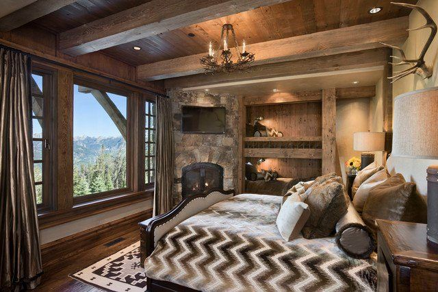 M s de 50 dormitorios r sticos con encanto - Dormitorios rusticos ...