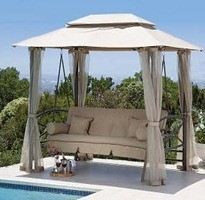 Gazebos-with-curtains-for-garden
