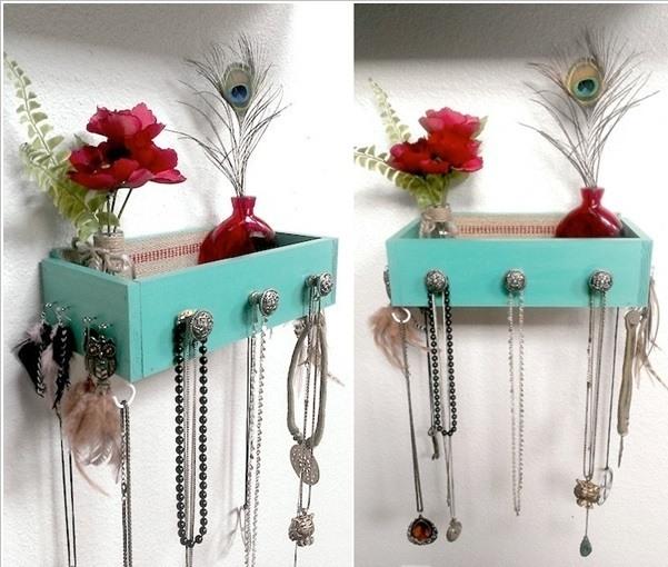 Ideas para decorar con cajones reciclados - Para colgar llaves ...