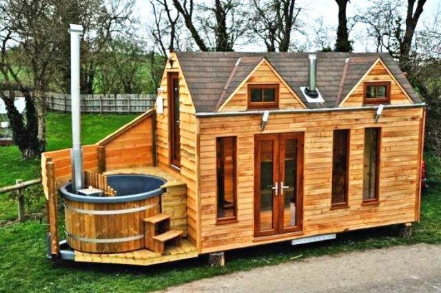 De 50 fotos de casas de madera modernas peque as y bonitas - Construcciones casas prefabricadas ...