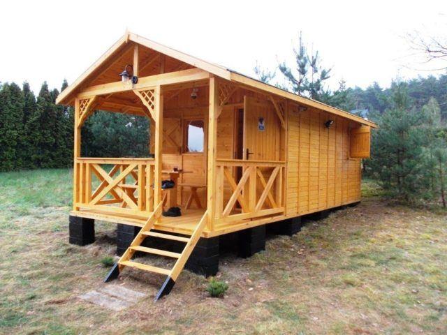 Fotos de casas de madera modernas peque as y bonitas - Refugios de madera prefabricados ...