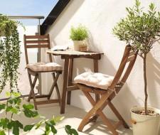 Más de 100 fotos de decoración de terrazas y balcones pequeños y modernos