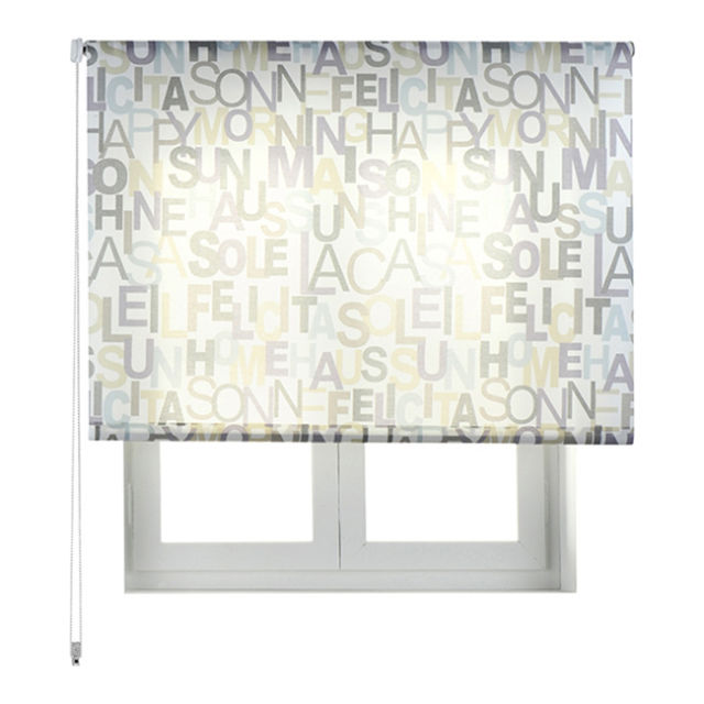 Estores enrollables modelos 2015 leroy merlin con letras - Estores decorados ...