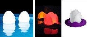 Luces flotantes para piscinas
