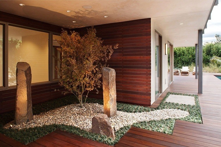 Jardines zen m s de 100 ideas de decoraci n al estilo for Jardin interior zen