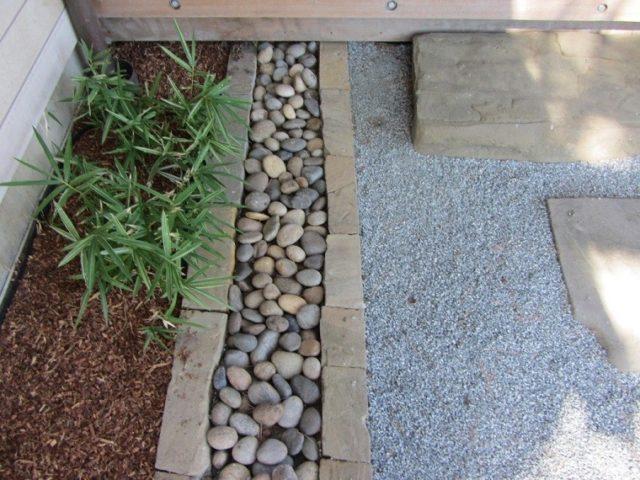 jardines zen con arena y piedras