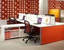 De 50 fotos de decoracion de oficinas peque as y modernas for Muebles de oficina knol