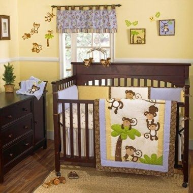 Habitacion bebe rustica for Habitacion completa bebe boy