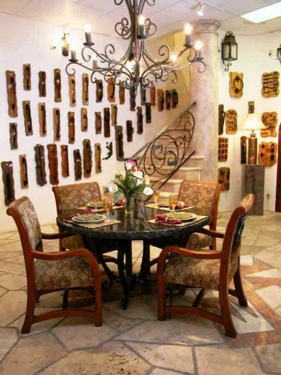 Cool Beautiful Full Decoration Creative Inspiring Dinning Room 590x786