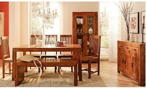 Indian-Wooden-Dining-Room-Furniture