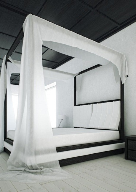 Modern-Black-and-White-Canopy-Bed-Wind-by-Mazzali-1-554x782_thumb[6]
