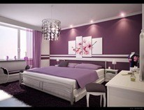 Modern-and-Feminine-purple-decor