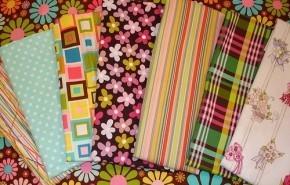 Telas y colores en decoración