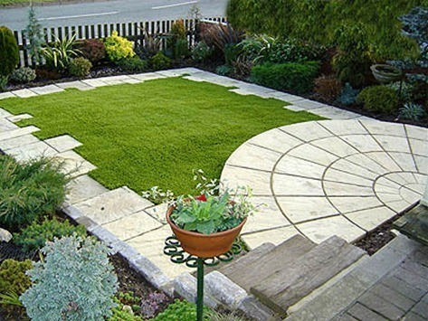 Yards With Artificial Turf
