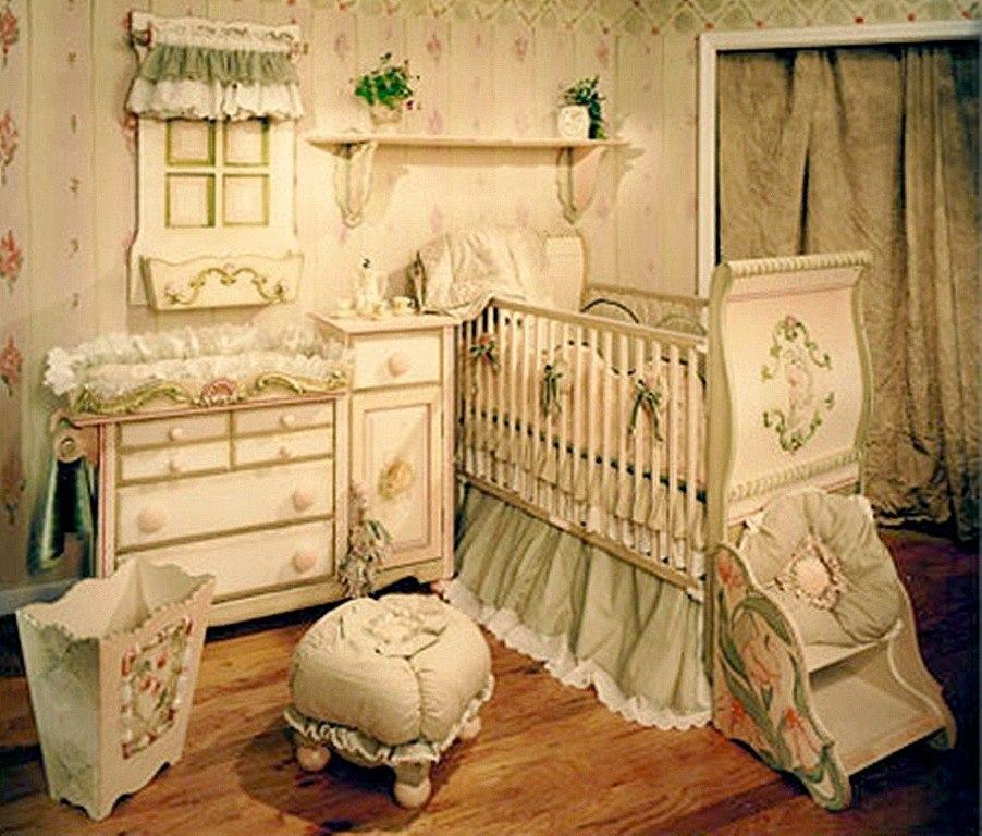 Para El Dormitorio Del Bebe Adornos En Lana De Algodon Tejida Para El