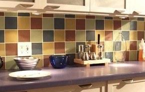 Decorar la cocina con azulejos