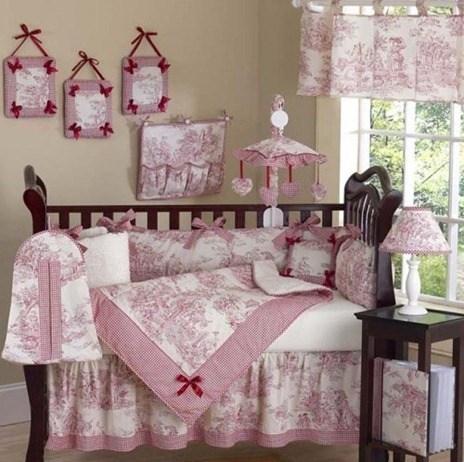 Decoracion rosa fotos for Objetos decoracion habitacion bebe