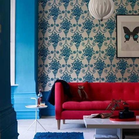 patterned-living-room
