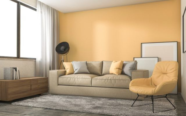 Pinturas para salon ideas modernas 2017 color beige
