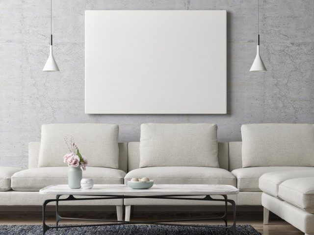 Pintura de salones modernos stunning pintura de salones - Pinturas modernas para salones ...