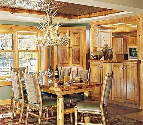 rustic-dining-room-lighting