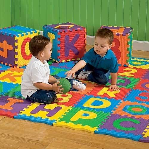Suelo ni os alfombra puzzle - Suelo habitacion ninos ...