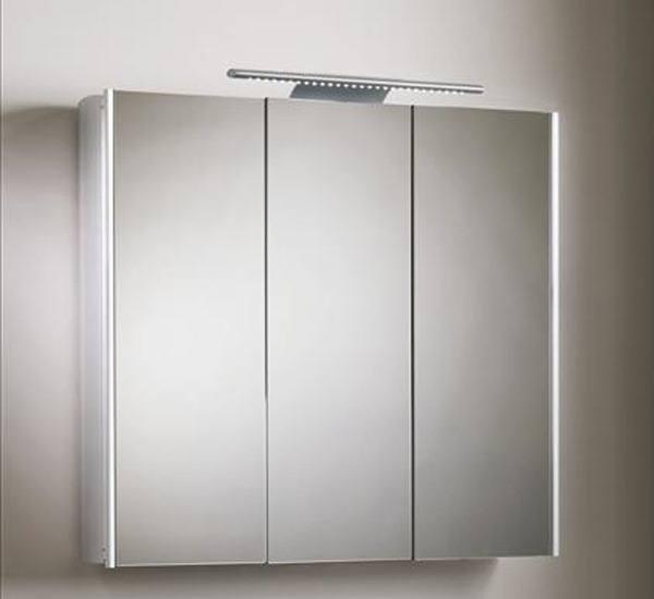 Muebles ba o espejo - Armario de bano con espejo y luz ...