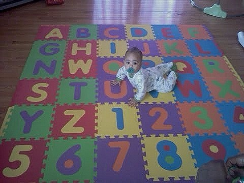 Suelo ni os alfombra puzzle - Alfombras baratas ikea ...