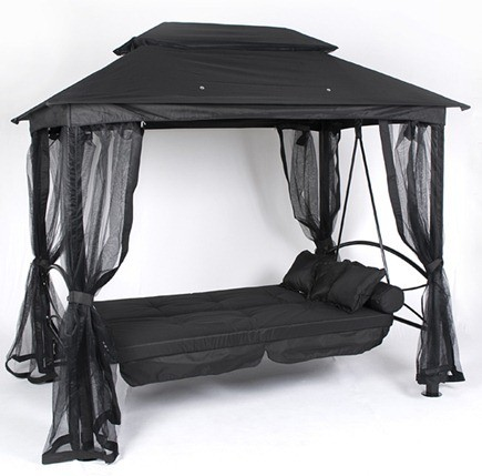 30_Luxor_Swingseat_Gazebo_-_Black