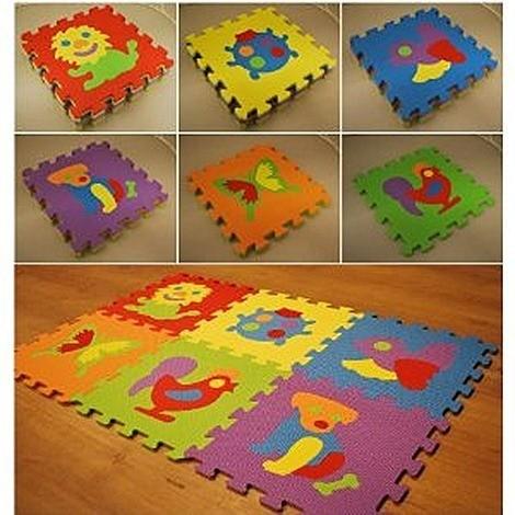 Suelo ni os alfombra puzzle - Alfombras habitacion nino ...