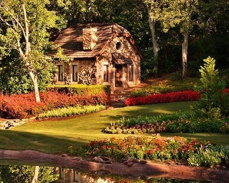 English Cottages on Tumblr Stone Cottage