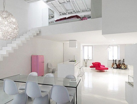 Modern-Minimalist-Interior-Decorating-Ideas-Loft-in-White-Color-Sceme
