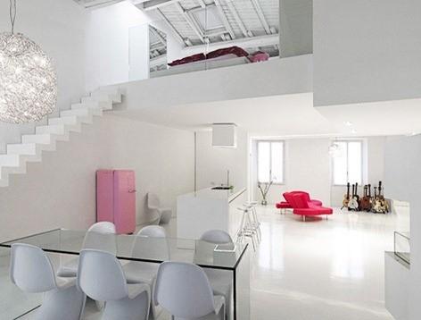 Modern-Minimalist-Interior-Decorating-Ideas-Loft-in-White-Color-Sceme