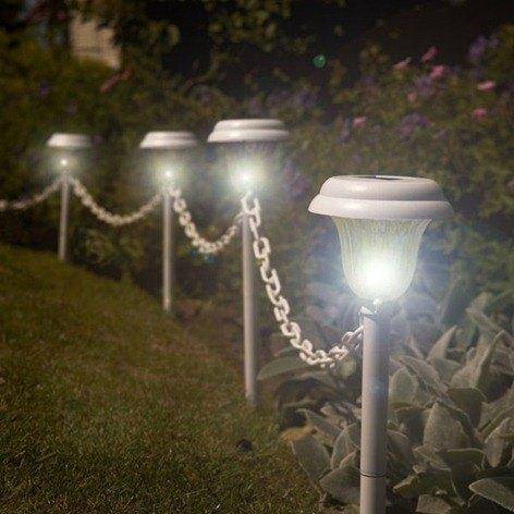 Iluminacion exterior luz solar - Iluminacion solar jardin ...