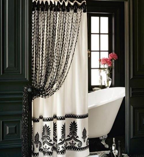 Cortinas De Baño Negras: es interesante tener una guía de compra sobre cortinas de ducha
